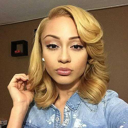 Pleasant Black Girls Bobs And Hairstyles 2015 Short On Pinterest Short Hairstyles For Black Women Fulllsitofus