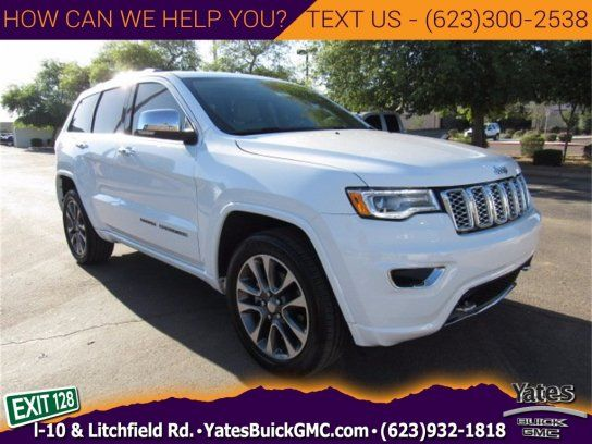 Sport Utility 2017 Jeep Grand Cherokee Overland With 4 Door In Good Year Az 85338 Grand Cherokee Overland 2017 Jeep Grand Cherokee Jeep Grand Cherokee