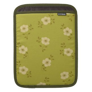 Vintage Floral iPad Protective Sleeve Sleeves For iPads