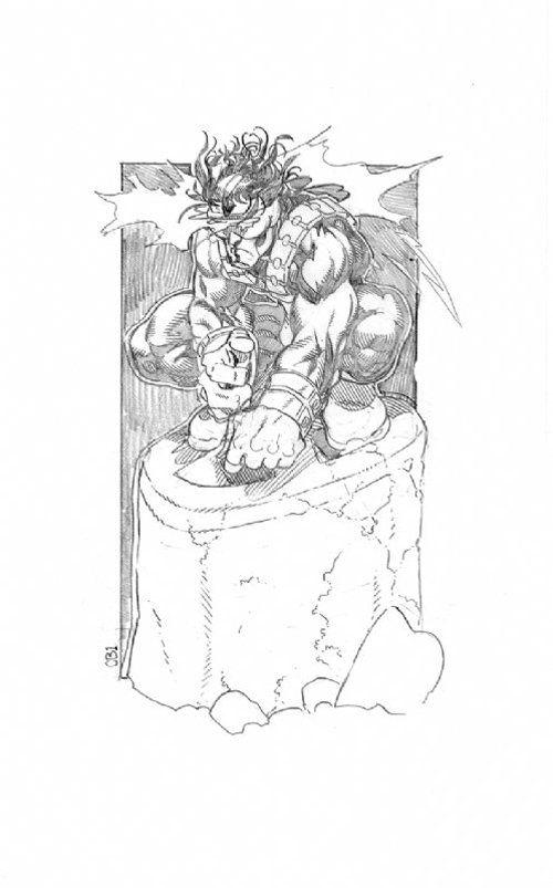 Cyclops by Chris Bachalo (via X-Men Character Design: CYCLOPS Comic Art For Sale By Artist Chris Bachalo at Romitaman.com)