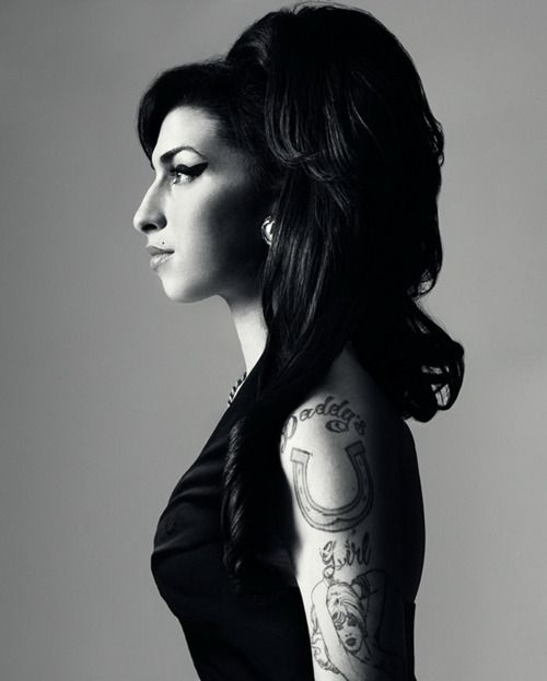 Amy Winehouse #amywinehouse #tattooed
