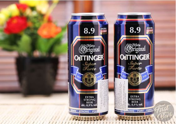 bia oettinger nặng 8.9