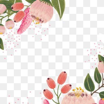 Vintage Flores Flor Vector Acuarela Pintado Las Flores Florecen Vintage Flor Rosa Verde Pintura De Flores Pintadas Flores Acuarela Flores Tropicales