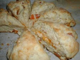 Farmhouse Bed and Breakfast Apricot Scones