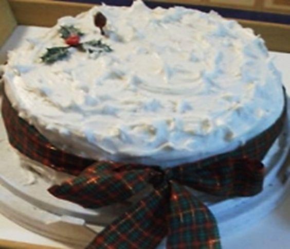 Receita de Bolo de Natal Cremoso | Doces Regionais