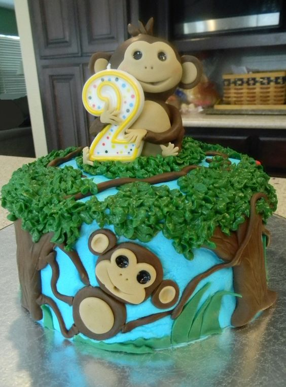 Monkey cake - Sandy this Cake is Cute!