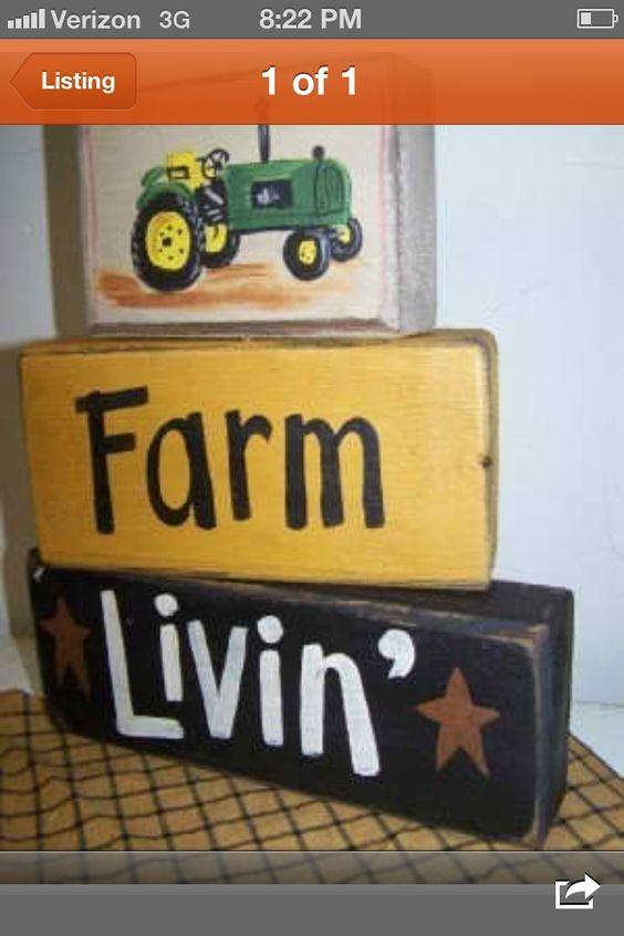 Primitive Wood Crafts | Wooden blocks | Primitive Craft Ideas 2