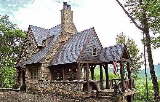 Pin By Lawrence On Cabins Cottage House Exterior Cottage Design Small Cottage House Plans