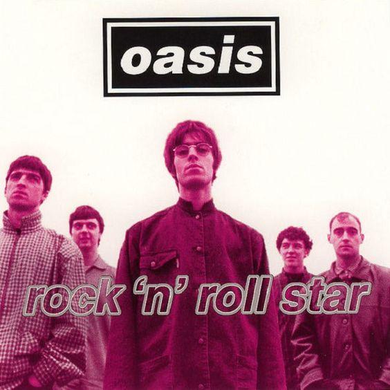 Oasis – Rock 'n' Roll Star (single cover art)