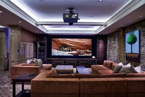 40 Best Game Room Ideas Game Room Setup For Adults Kids Living Room Theaters Cinema Room Design Home Theater Design