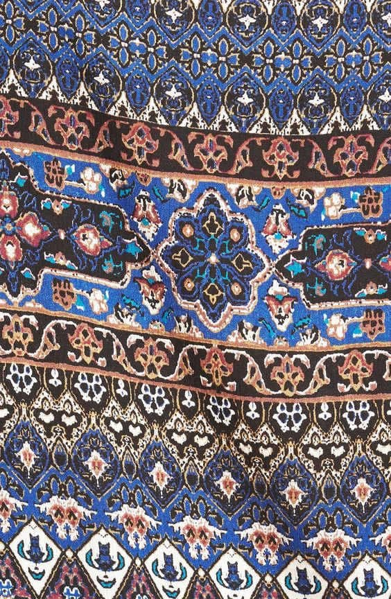 Lush Print Gaucho Pants