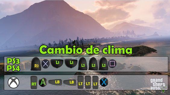 Cambio de clima GTA 5