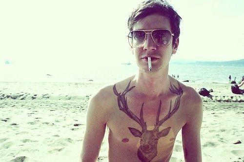 hipster tattoo