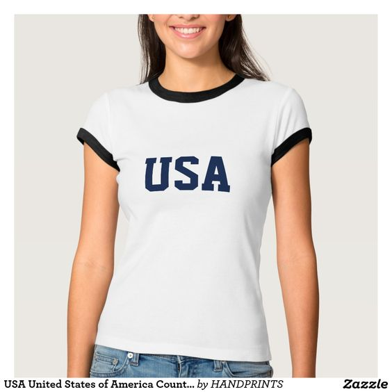 USA United States of America Country Patriotic T-Shirt
