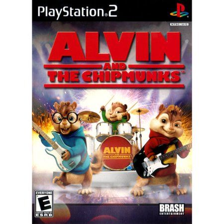Video Games Alvin And The Chipmunks Chipmunks Retro Gaming