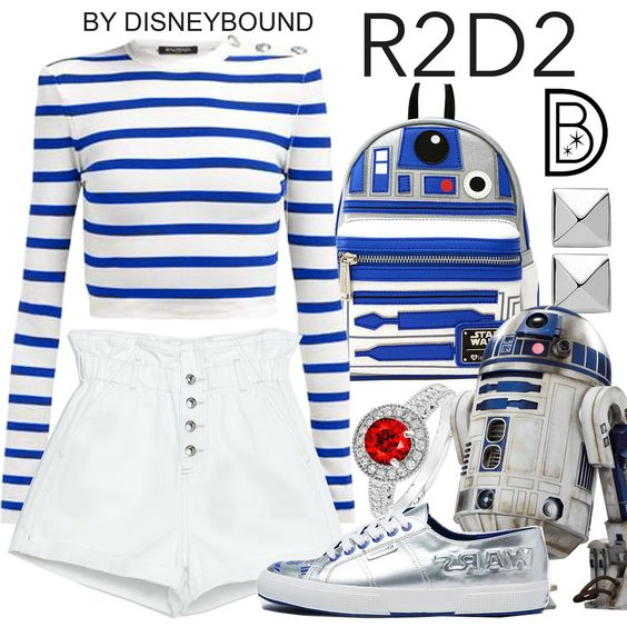 [[MORE]] Shorts Shoes Shirt Backpack Ring Earrings   DisneyBound