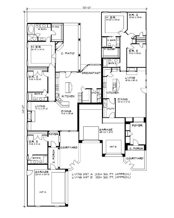Floor plan image of the alameda house plan combine for Sewing room floor plans