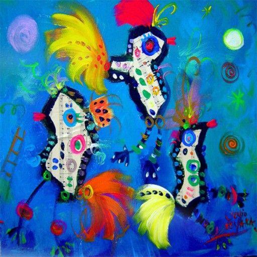 """Do-Re-Mi-Fa-Sol"" by Sergio Vergara Arteaga @ VirtualGallery.com"