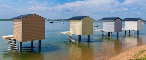 These Precious Beach Huts Have One Fatal Flaw