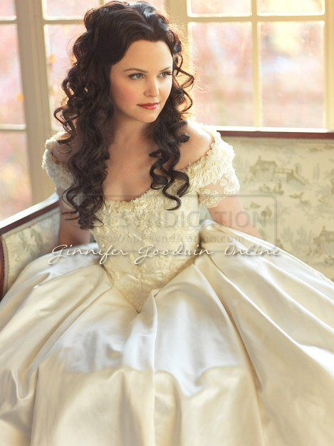 soft wave hairstyles : Snow White Hairstyle Once Upon A Time Onceuponatime #ouat once upon a ...