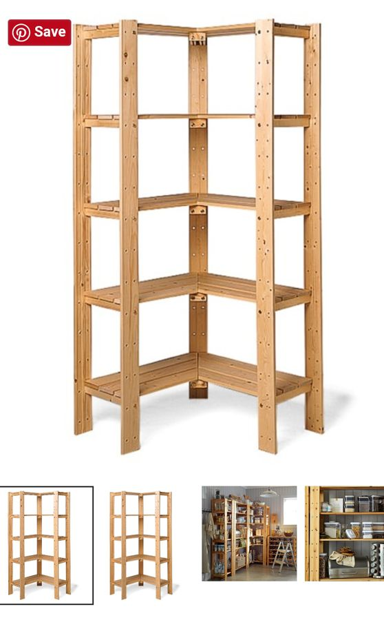 Need A Storage Solution You Can Make This Corner Bookshelf Diy