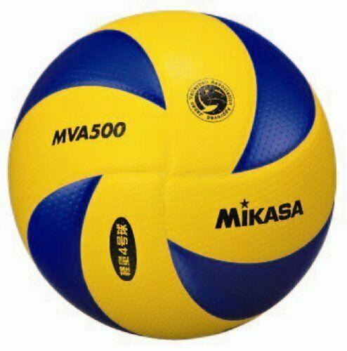 Advertisement Ebay Hya07368 Mikasa Mva500 Fiva Official Ball Volleyball Size 4 From Japan Volleyball Set Volleyball Fun Sports
