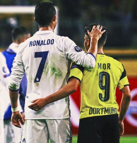 •  Cristiano Ronaldo •  Emre Mor