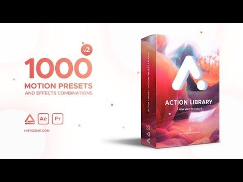Action Library Motion Presets Package Free Download After