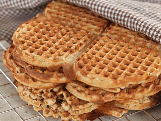 Receta waffles estilo noruego