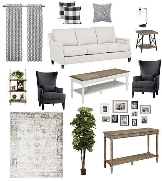 Modern Farmhouse Living Room All Items From Amazon Modern Farmhouse Living Room Living Room Decor Wall Decor Living Room Pictures for living room amazon