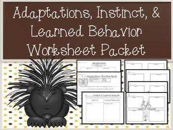 adaptations behavior worksheets printables worksheets. Black Bedroom Furniture Sets. Home Design Ideas