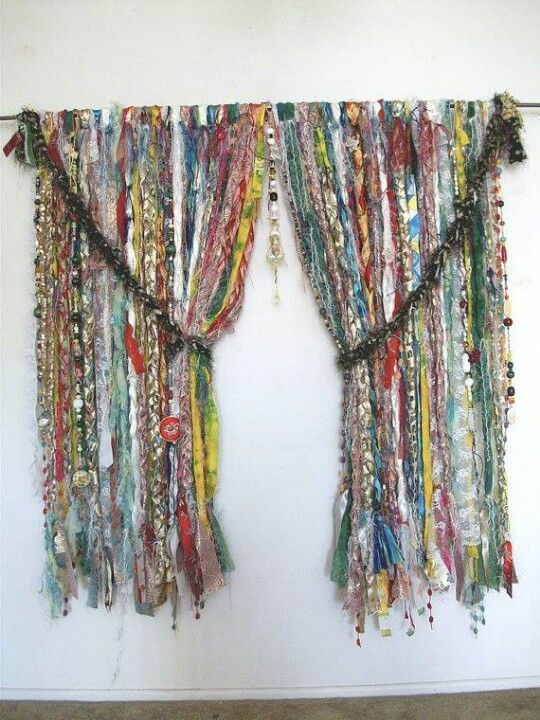 Gypsy Curtain Boho Eclectic Rustic Pinterest Studios
