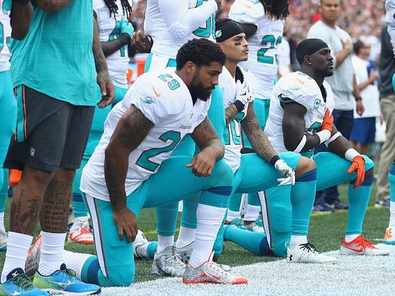 Florida Sheriff's Office Will Not Escort Miami Dolphins Until They Stand for…
