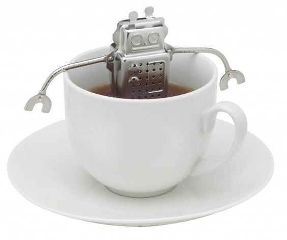 robot tea infuser via www.SuperRadStuff.com: