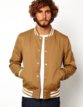 Gold Bomber Jacket | asos mensfashion bomberjacket | Cool