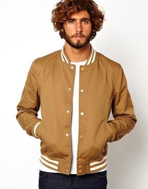 Gold Bomber Jacket | asos mensfashion bomberjacket | Cool