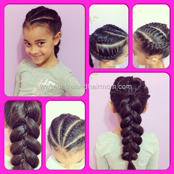 mixed hair braid styles buns and on 2761