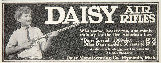 1912 Ad Daisy Air Rifle Special 1000 Shot American Boy - ORIGINAL ...