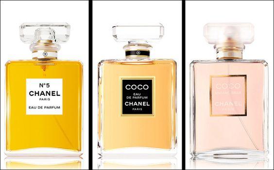 perfumes de chanel