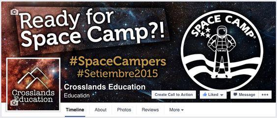 Imagen de facebook para expedición #SpaceCampers #Setiembre2015