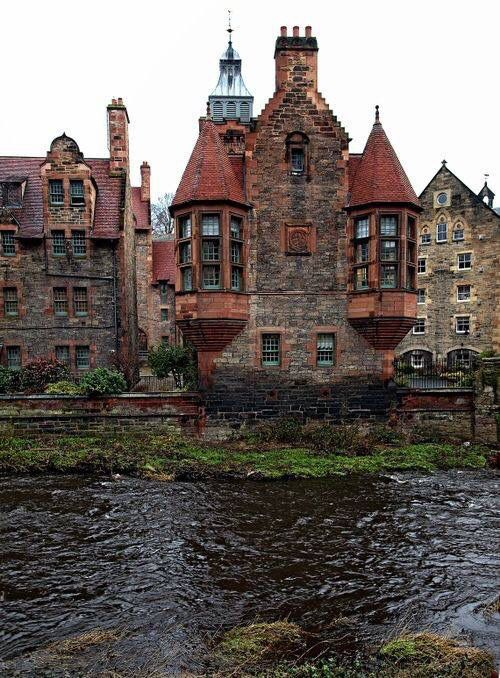 Medieval Edinburgh Scotland