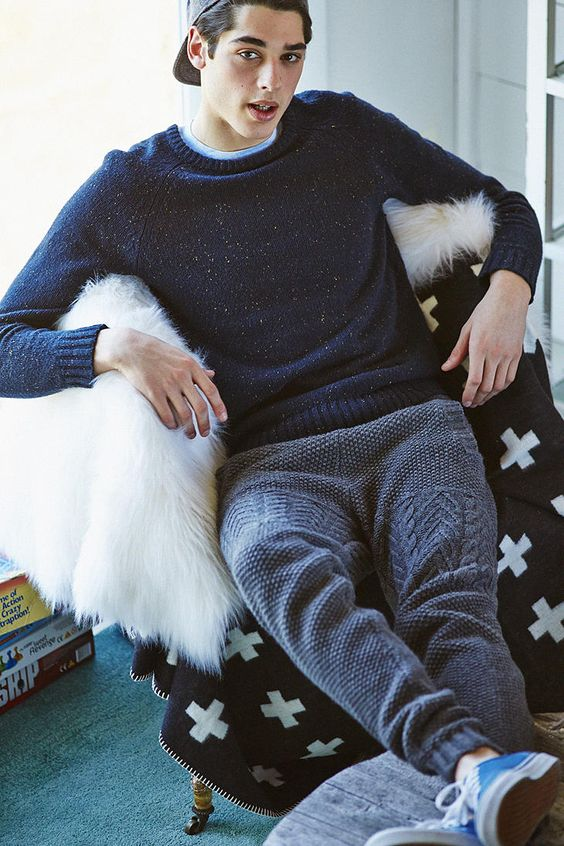 www.woolfetish.com Lifetime Blundetto Sweater Pant | Urban Outfitters - these just look crazy comfortable