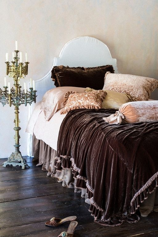 Bohemian Bedroom Romantic Color Gypsy Decor Gypsy: Velvet Bedding ...