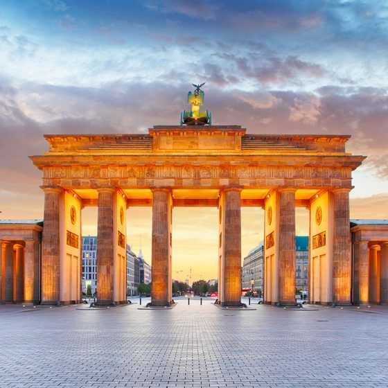 The Inspiration For Berlin S Classic Age Of Architecture Brandenburg Gate Brandenburger Tor In German Helped Earn The C Brandenburg Gate Germany Berlin City
