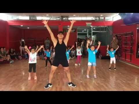 rutinas de baile para niños de preescolar