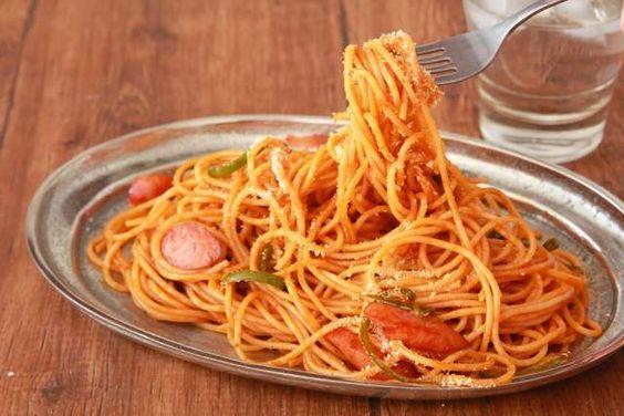 美味しそうなナポリタンパスタ・スパゲッティー