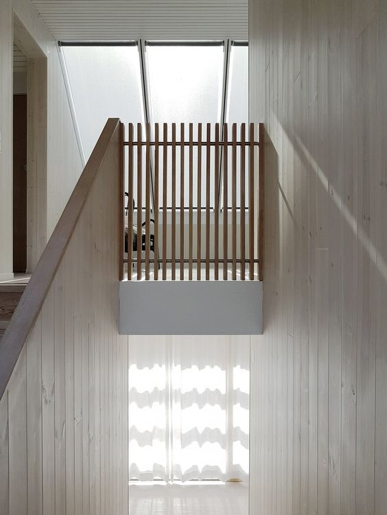 33 Scandinavian Stairs To Rock This Year Futuristic Interior Designs Technology Interior Stairs Summer House Interior