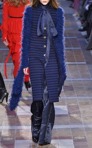 Mohair Draped Sleeve Coat by SONIA RYKIEL for Preorder on Moda Operandi