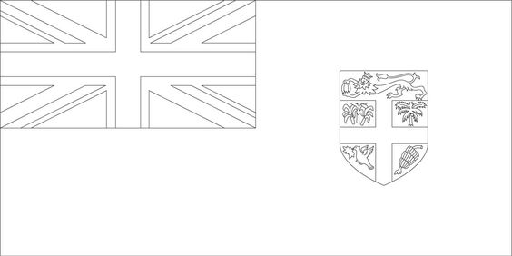Fiji flag coloring page sonlight core c window on the for Fiji coloring pages