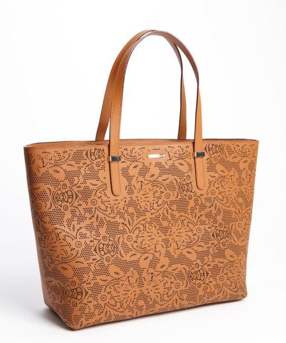 Rebecca Minkoff almond leather 'Perfection' tote